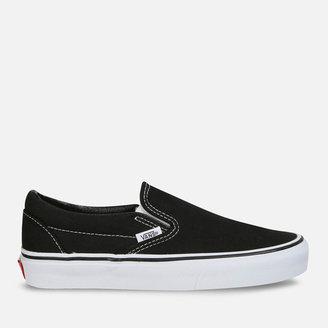 Vans Classic Slip-On Trainers - Black