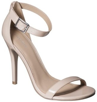 Xhilaration Women's Susy Strappy Heel - Blush