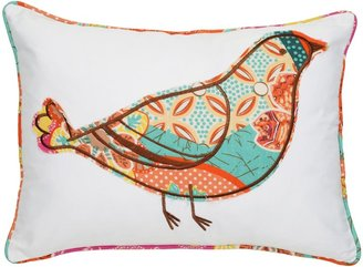 Zanzibar Bird Decorative Pillow