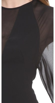 Robert Rodriguez Techno Illusion Crepe Blouse