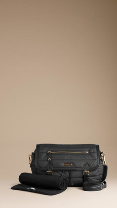 Burberry Quilted Baby Changing Bag