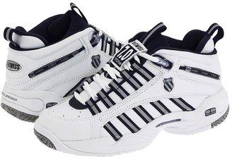 K-Swiss Ultrascendor Mid W (White/Navy/Silver) - Footwear