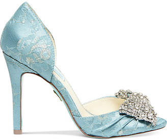 Betsey Johnson Blue by Gown Evening Pumps