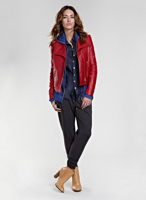 Isabella Oliver Agyness Leather Jacket