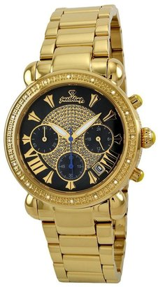 "Bronx Just Bling Women's JB-6210-B ""Victory"" Gold-Tone Diamond Watch"