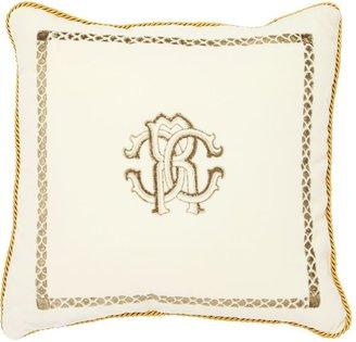 Venezia Printed Cotton & Silk Pillow