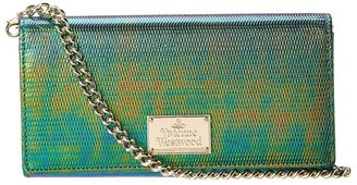 Vivienne Westwood Special Purse SLG's with Chain (Emerald) - Bags and Luggage