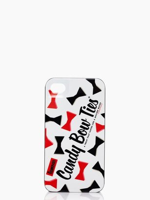 Kate Spade Licorice bow ties iphone 4 case