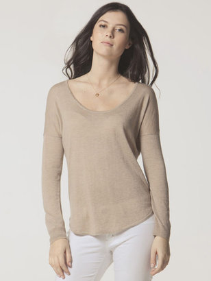 C&C California Dolman shirt tail sweater