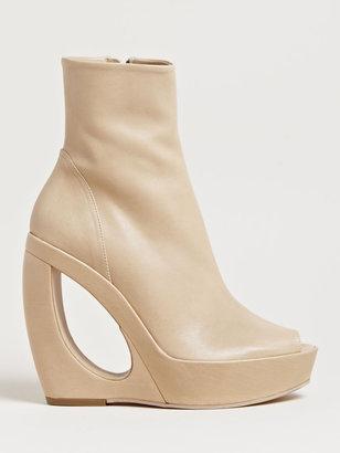 Ann Demeulemeester Women's Open Toe Boots
