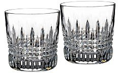 Waterford Lismore Diamond Old Fashioned Glass, Set of 2