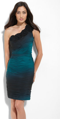 Adrianna Papell Ombré Chiffon Sheath Dress