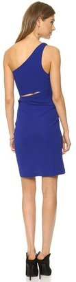 Yigal Azrouel Cut25 by One Shoulder Matte Jersey Dress