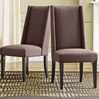 west elm Willoughby Dining Chair - Raisin