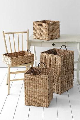 Lands' End Seagrass Storage Large Basket