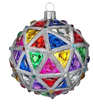 Waterford Holiday Heirlooms Times Square 2014 Replica Ball Ornament