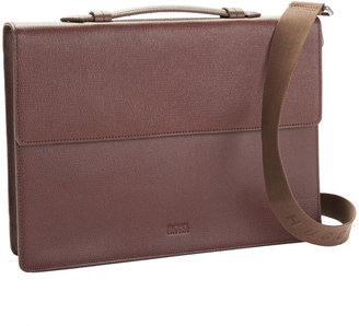HUGO BOSS Slim Leather Briefcase