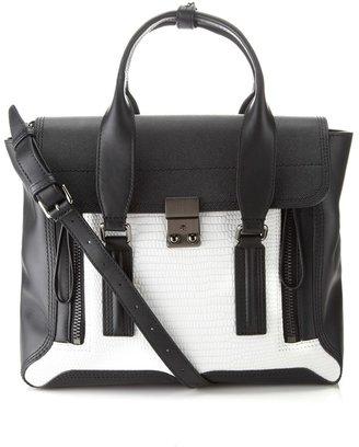 3.1 Phillip Lim Monochrome Leather Pashli Satchel