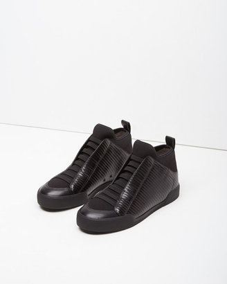 3.1 Phillip Lim Quilted Morgan High-Top Sneaker $395 thestylecure.com