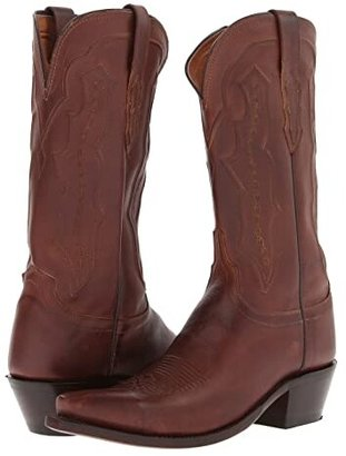 Lucchese M5004.S54 (Tan Ranch Hand) Cowboy Boots