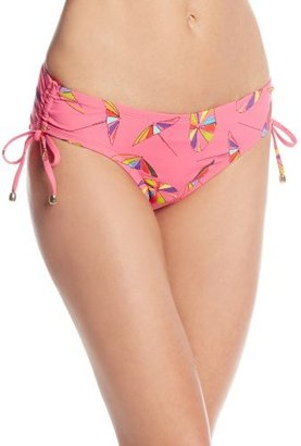 Anne Cole Women's Umbrella's Alex Side Tie Hipster Bikini Bottom