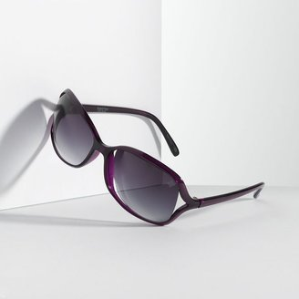 Vera Wang Simply vera vented oval sunglasses