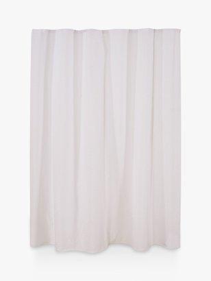 John Lewis & Partners Seersucker Shower Curtain