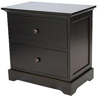 JCPenney Muniré Furniture Chesapeake Nightstand - Merlot