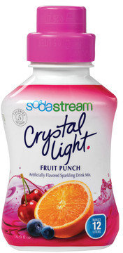 Sodastream Crystal Light Fruit Punch Soda Mix (4 Pack)