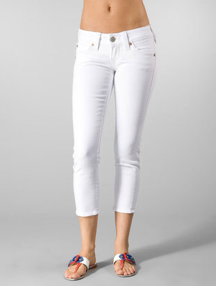 True Religion Kate in Optic White Rinse