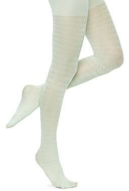 JCPenney Zig-Zag Tights