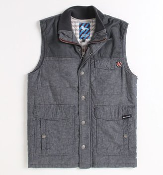 Modern Amusement Stewart Pattern Puffer Vest