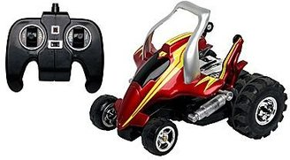 JCPenney Blue Hat Remote Control Street Savage Car - Red