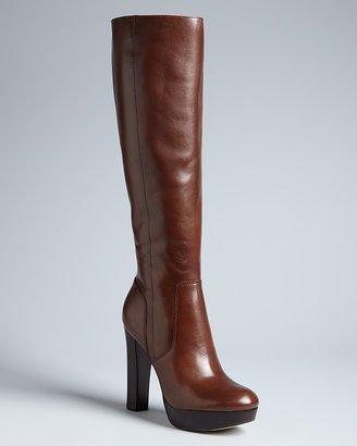 MICHAEL Michael Kors Tall Platform Boots - Lesly High Heel