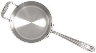 All-Clad Stainless Steel 4 Qt. Sauce Pan With Loop And Lid