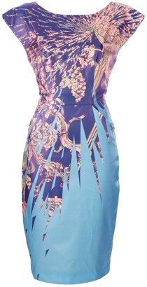 Matthew Williamson printed fitted dress