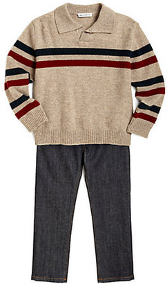 Dolce & Gabbana Toddler's & Little Boy's Striped Cashmere Sweater