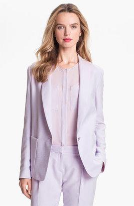 Theory 'Dalaine' Silk Blazer