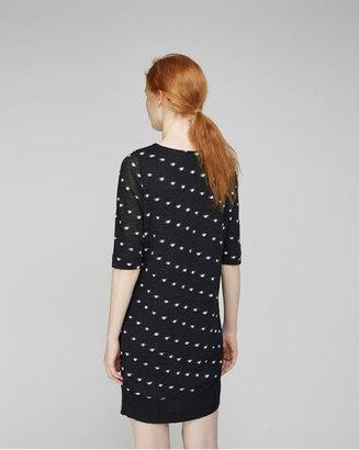 Tsumori Chisato octopus dot jacquard dress