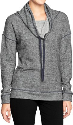 Old Navy Women's Funnel-Neck Terry Pullovers