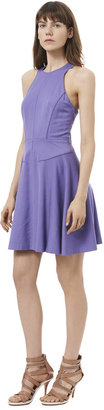 Rebecca Taylor Sleeveless Cut Out Back Dress