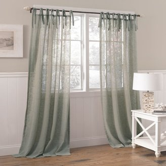 "Laura Ashley Lifestyles 1-pack Danbury Sheer Window Curtain - 42"" x 84"""