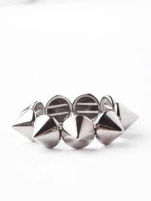 Lori's Shoes Conical Spike Stretch Bracelet