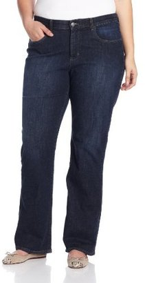 Lee Women's Plus Size Honor Comfort Fit Barely Bootcut Jean