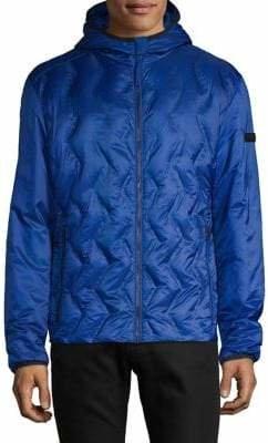 Strellson Textured Hooded Jacket