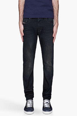 Diesel Deep blue overdyed Tepphar jeans