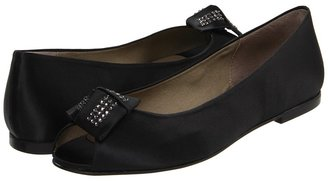 French Sole Glitz Satin Shoe Women's Bridal Shoes