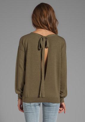 Sonia Rykiel SONIA by Back Tie Pullover