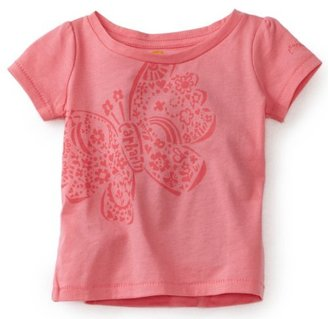 Carhartt Baby-girls Infant Short Sleeve T-Shirt with Block Print Butterfly Screen Print