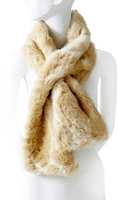 The Limited Faux Fur Keyhole Scarf